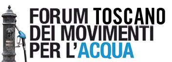 Logo forum toscano acqua